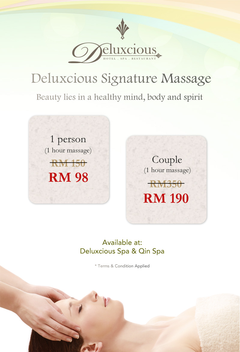 Deluxcious Signature Massage