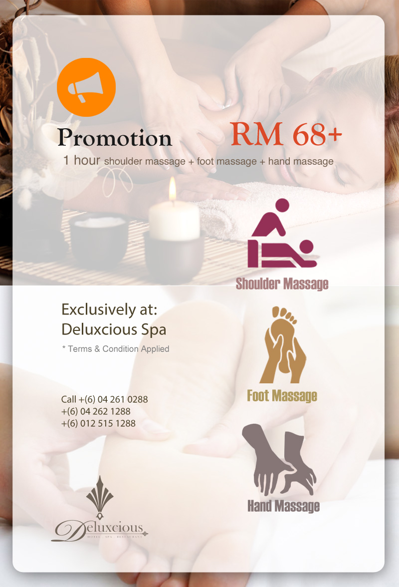 Shoulder Massage, Foot Massage, Hand Massage